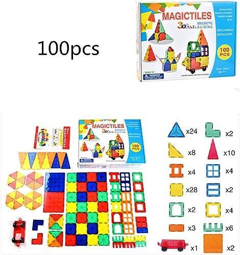 MCBQ Piece Magnetischer Baustein Lernspielzeug Für Kinder Hand-Auge-Koordination Logisches Denken Zusammengebaute Bausteine Lernspielzeug Für Kinder