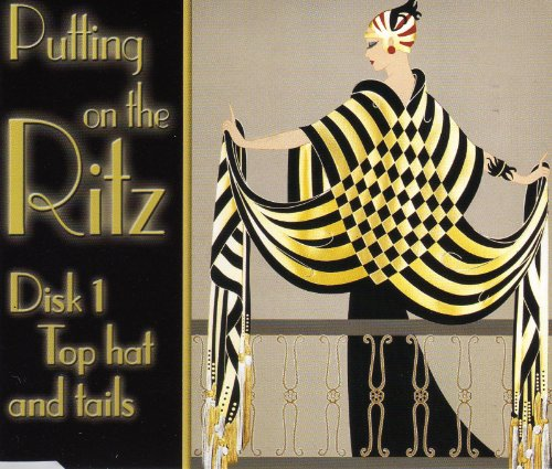 PUTTING ON THE RITZ, A MUSICAL JOURNEY THROUGH THE GOLDEN YEARS OF HOLLYWOOD. 2CD BOXSET FEATURING 40 GOLDEN GREATS INCLUDING FRED ASTAIRE, JUDY GARLAND, COLE PORTER, LEW STONE, RED NICHOLS AND MANY MORE. DIGITALLY REMASTERED FROM ORIGINAL RECORDINGS.