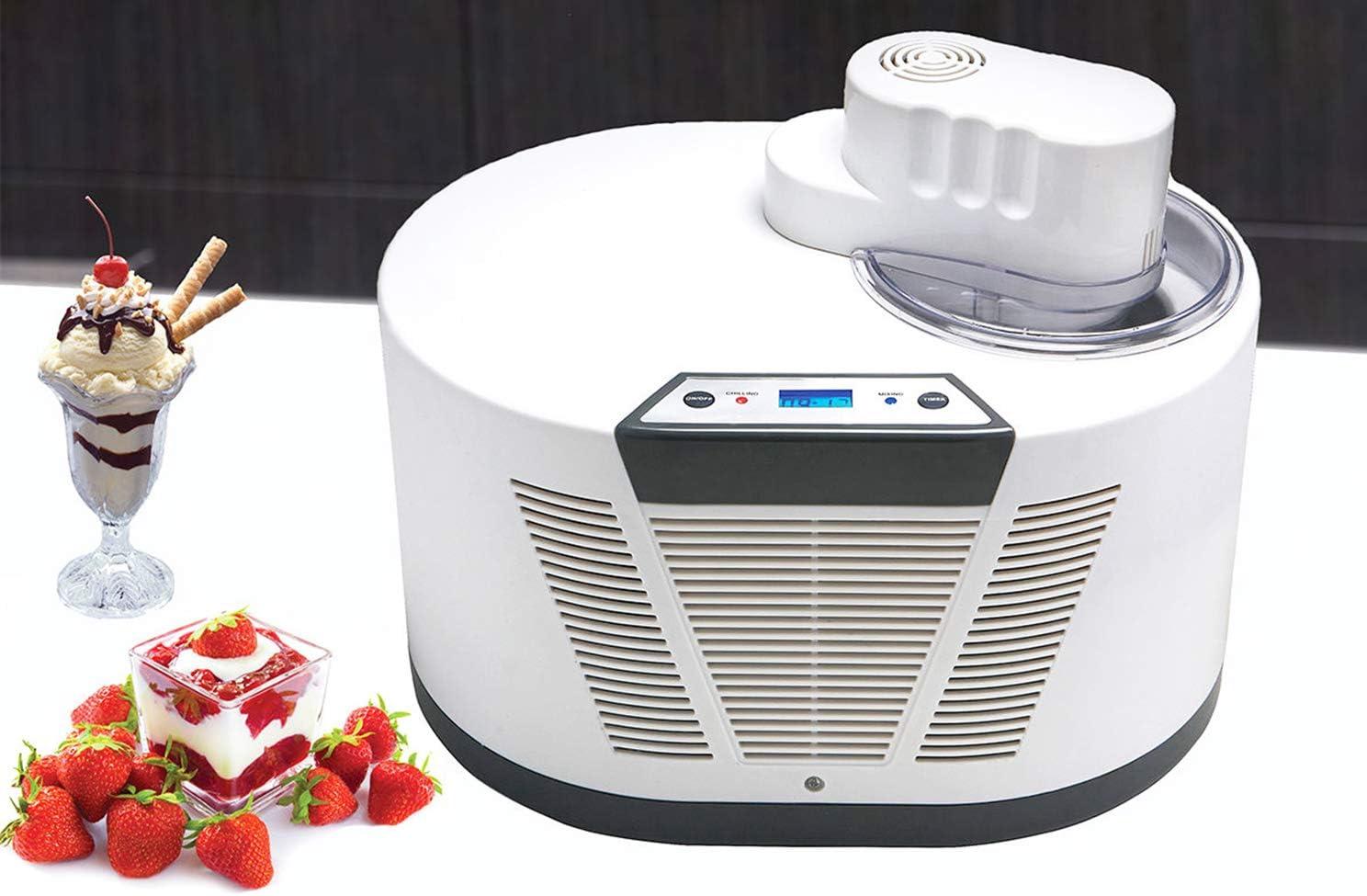 Hanchen Electric Ice Cream 1 year warranty Machine wit favorite Automatic Maker