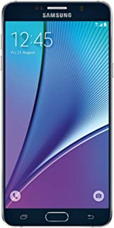 Samsung Galaxy Note 5 SM-N920T 32GB Sapphire Black for T-Mobile (Renewed)