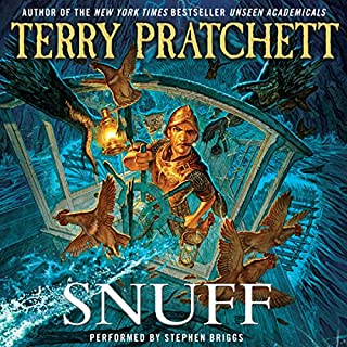 Snuff audiobook cover art