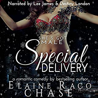 Special Delivery                   By:                                                                                                                                 Elaine Raco Chase                               Narrated by:                                                                                                                                 Destiny Landon,                                                                                        Lee James                      Length: 4 hrs and 26 mins     92 ratings     Overall 3.4