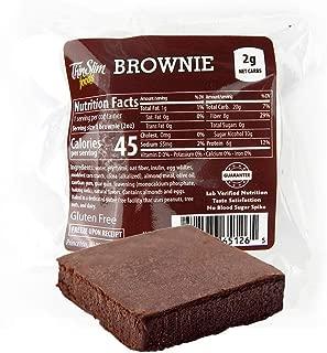 ThinSlim Foods Low Carb Low Calorie Brownie 4pack