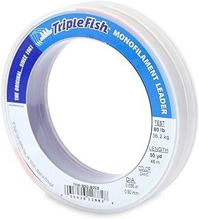 Triple Fish 80 lb Test Mono Leader Fishing Line