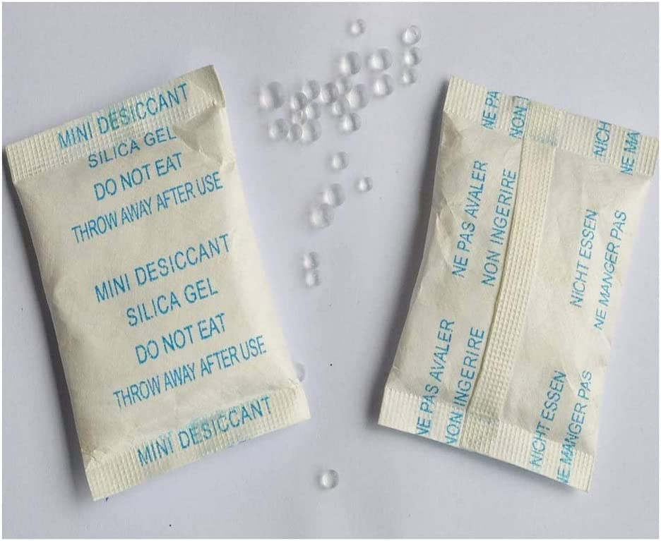 from 1G sachets to 500G sachets All quantities available Silica Gel Sachets packets pouches POLYBAGSTORES 1, 250 Gram Sachet
