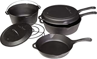 Camp Chef 6-Piece Cast Iron Set One Color, One Size