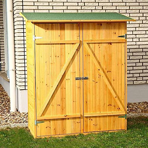 HUIJK XXL Holz Gerätehaus...