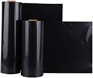 GDMING HDPE池塘衬垫, 耐穿刺性 防渗 池塘皮 游泳池 衬垫 为了 鱼池 水 防漏 ,49个尺寸 (Color : Black, Size : 2x10m)