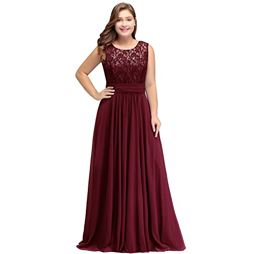 dc4510405f Burgundy Plus Size Prom Dresses: Amazon.com