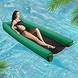 FOONEE Aufblasbare Pool-Schwimmkörper Für Erwachsene Und Kinder, Tragbare Pool Floß Wasser Hängematte Kein Leck-Ripstop-Stoff-Float-Lounger, Schnell...