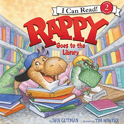 Rappy Goes to the Library audiobook cover art