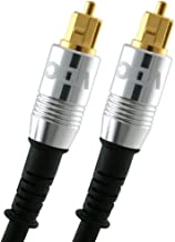 16 feet Premium VDC Toslink Optical Cable - ( for PS3,Sky,Sky HD,Virgin HD,LCD,LED,Plasma, Blu Ray to Connect with Home Cinema Systems,AV Amps Etc.)