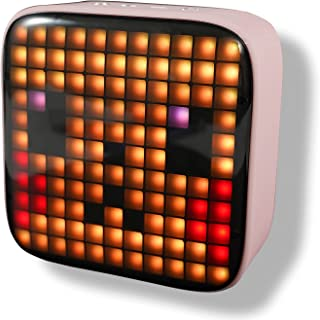 $36 » Sponsored Ad - Qudodo Portable Wireless Bluetooth Speaker,121 Pixel LED Lights,18 Kinds of Pixel Patterns, Fluctuate with ...