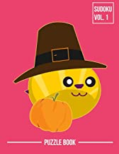 Thanksgiving Bee Pilgrim Hat Sudoku Beekeepers Holiday Season Puzzle Book Volume 1: 400 Challenging Puzzles
