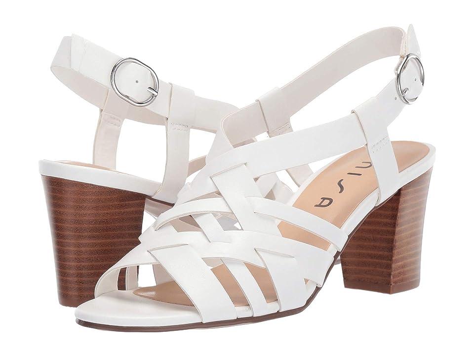 Unisa Paro (White) High Heels