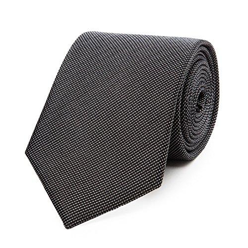 Bruce Field - Cravate en pure soie piquée
