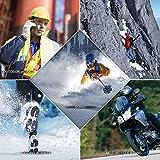 CONQUECO Damen Akku Beheizbare Weste Daunenweste USB-Aufladen Heheizte Kleidung für Outdoor Reisen Motorsport - 6