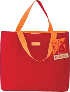 FitKicks Everyday Reversible Water-Resistant Large Neoprene Active Lifestyle Tote Bag
