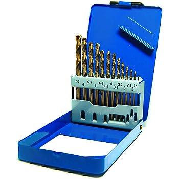 Heller 1mm HSS-TIN Titanium Twist Metal Drill Bits 10 Pack German Quality Tools