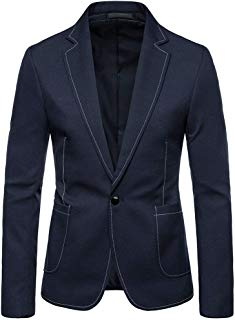 Fashion Men's Suit Slim Solid 2-Piece Suit Blazer Business Wedding Party Jacket Coat & Pants