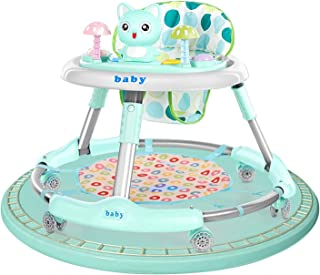 Baby Walker, 2 in 1 Baby Walker Table Musical Walker Pull Twist Toys My First Walker, 6 Months Plus, Stages of Play, From ...