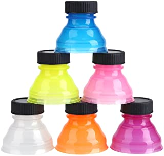 Reusable Bottle Caps, 6Pcs Snap On Pop Top Can Cover for Cool Soda Drink Lid