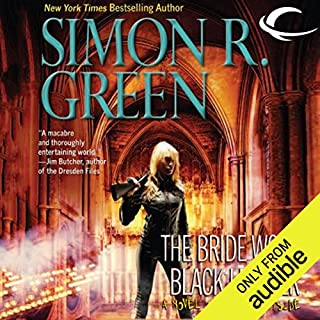 The Bride Wore Black Leather audiobook cover art