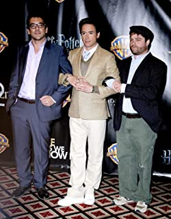 Posterazzi Poster Print Todd Phillip Robert Downey Jr Zach Galifianakis at Arrivals for Wb Showest Party Paris Hotel Las Vegas Nv March 18 2010. Photo by MoraEverett Collection Celebrity (8 x 10)