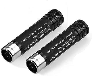 2 Packs 3.6V 3000mAh Ni-MH Replace for Black and Decker 3.6 Volt Battery Versapak VP110 VP100 VP105 VP130 VP730 VP7240