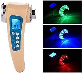 Oplaadbaar ultrasoon schoonheidsapparaat, apparaat voor gezichtsverzorging voor thuis Gezichtsverstevigende ionenreiniging...
