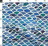 Wasserfarben, Marine, Fisch, Maritim Stoffe - Individuell