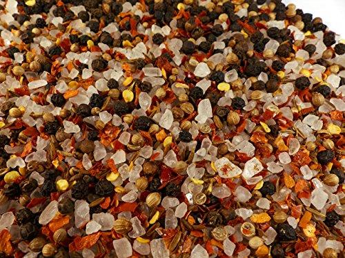 Mexikanisches Pfeffer-Chili-Gewürzsalz grob für die Mühle Naturideen® 100g