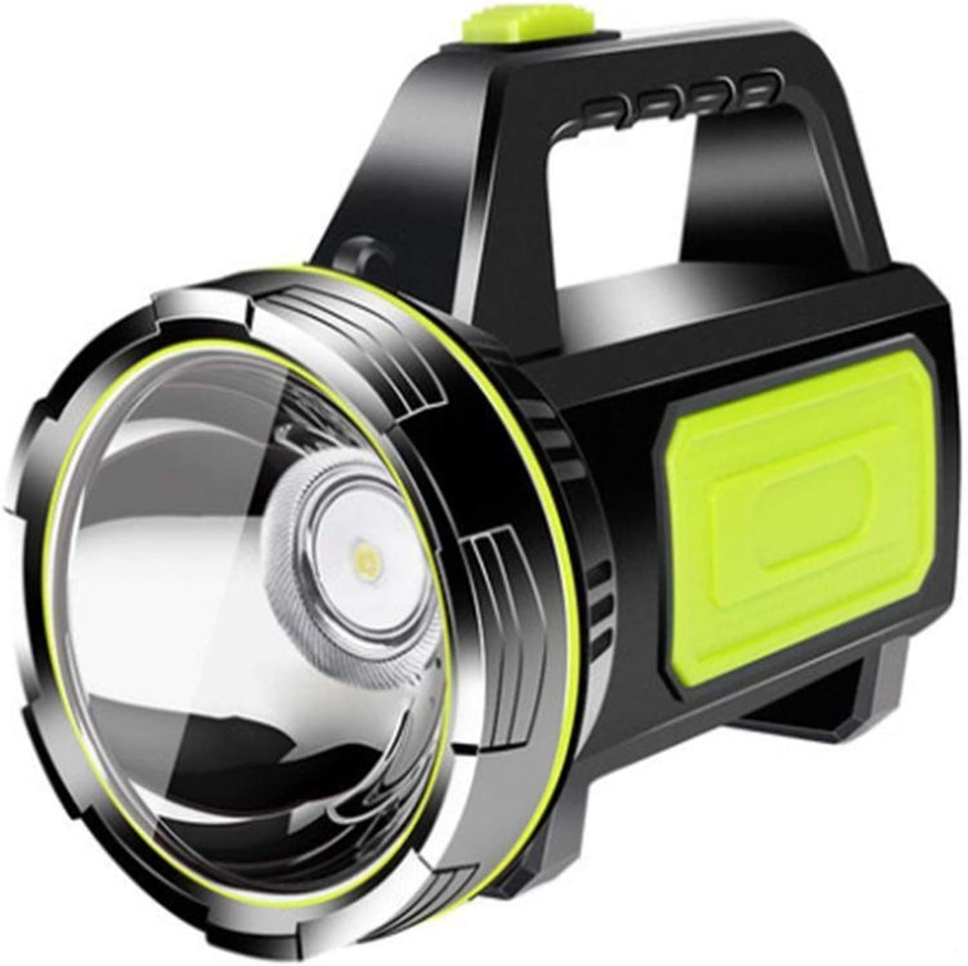 JSJJAUA searchlight Powerful LED Flashlight OFFicial store USB Max 62% OFF Rechargeable Sea