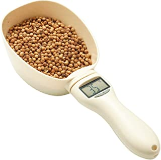 RoyalCare Pet Food Scoop Precise Dog Food Measuring Cup Detachable Cat Food Scooper Digital Scale Spoon with LCD Display f...