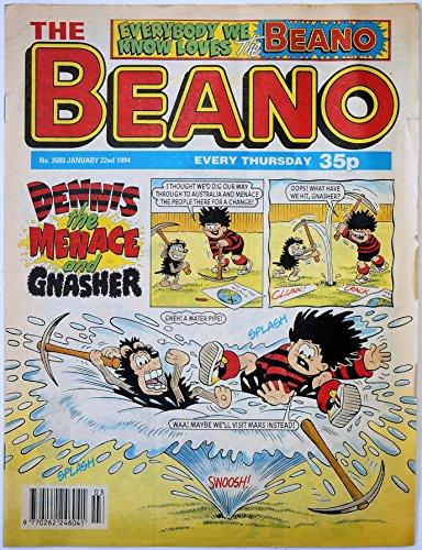 Vintage Rare The Beano Weekly Comic Magazine No. 2688 Boys And Girls Comic...