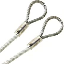 Amazon Com Steel Cable With Loops