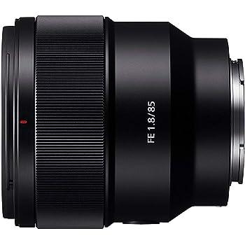 Sony SEL-85F18 Obiettivo a Focale Fissa 85 mm F1.8, Mirrorless Full-Frame, Attacco E, SEL85F18
