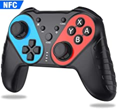 BEBONCOOL Wireless Controller for Nintendo Switch/Switch Lite,Pro Switch Remote with NFC Function for Nintendo Switch Controller,Pro Switch Controller with Turbo,Controller for Switch with Gyro Axi