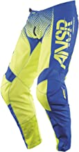 Answer Racing A17.5 Syncron Men's Off-Road Motorcycle Pants - Acid/Blue / Size 36
