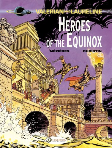 Valerian and Laureline - tome 8 Heroe of the Equinox (08)