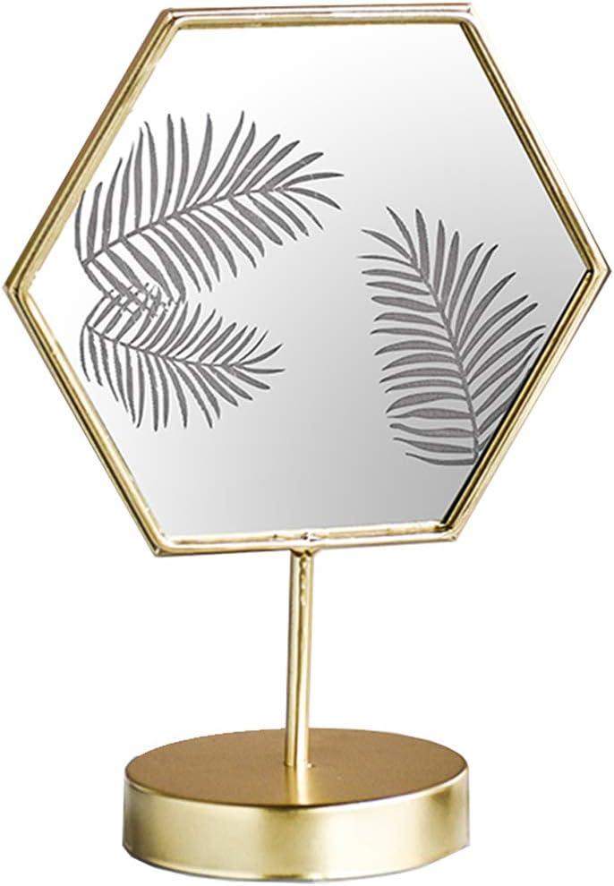 Hexagonal Vanity Mirror with Light Led Now on sale Makeup Lig Desktop Milwaukee Mall