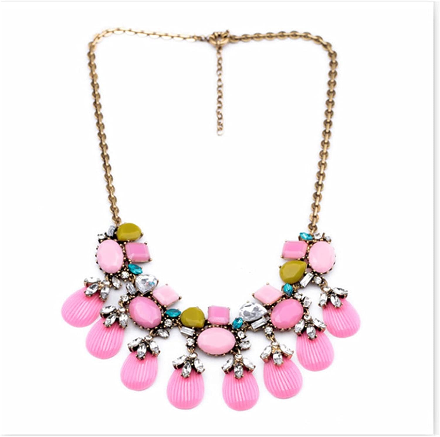 ZCPCS Challenge the lowest price of Japan 2021 Limited time cheap sale Statement Necklace for Bohemia Sweater Women Style Ne