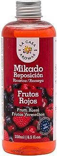 LA CASA DE LOS AROMAS Mikado Reposicion 250 Ml Sin Varillas (Frutos Rojos, 1)