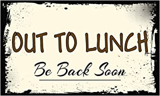 Best funny out to lunch signs Reviews