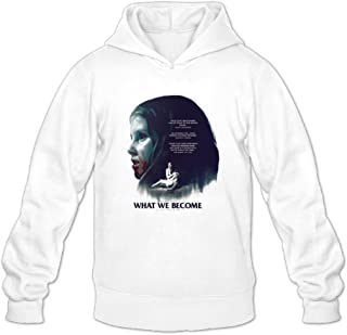 Mens What We Become POSTER Hoodie Design Sweatshirts