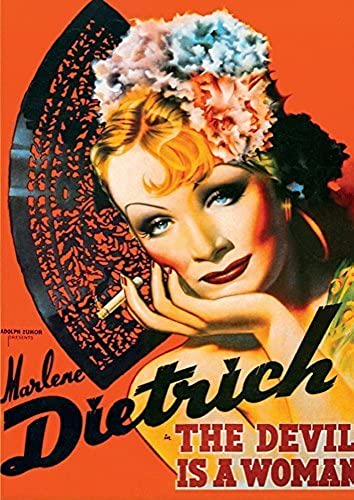 diseño simple y generoso D-Toys Vintage Poster - Marlene Dietrich Jigsaw Puzzle, 1000-Piece by by by D-Toys  mejor vendido