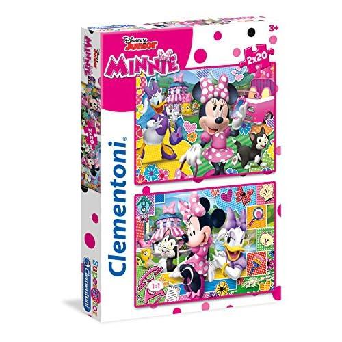 Clementoni- Happy Helper 2 Supercolor Puzzle, 2 x 20 pezzi, 24750