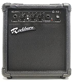 Rockburn BC-10S-BK  amp 10 Watt Guitar Amplifier with Headphone Output (B002S0NOUS) | Amazon price tracker / tracking, Amazon price history charts, Amazon price watches, Amazon price drop alerts