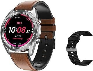 DT91 Hartslag/Bloeddruk Monitoring Smart Watch IP67 Waterdichte mannen en vrouwen Tracker Smart Armband voor Android iOS,F