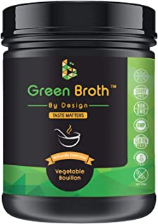 Organic Pea Protein • Vegetable Bouillon Natural Flavor • Keto • Non-GMO • 21 Portions • Protein/340g Jar • Broth by Design